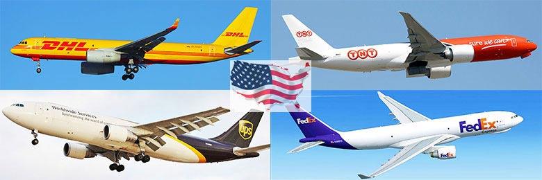 Vận chuyển đường hàng không để gửi hàng đi Mỹ